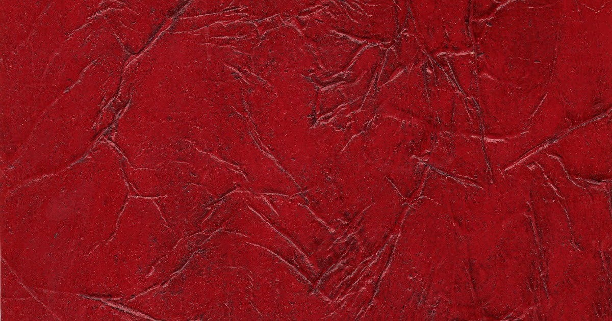 Left Hand Decorative Painting Distressed Red Leather Treatment