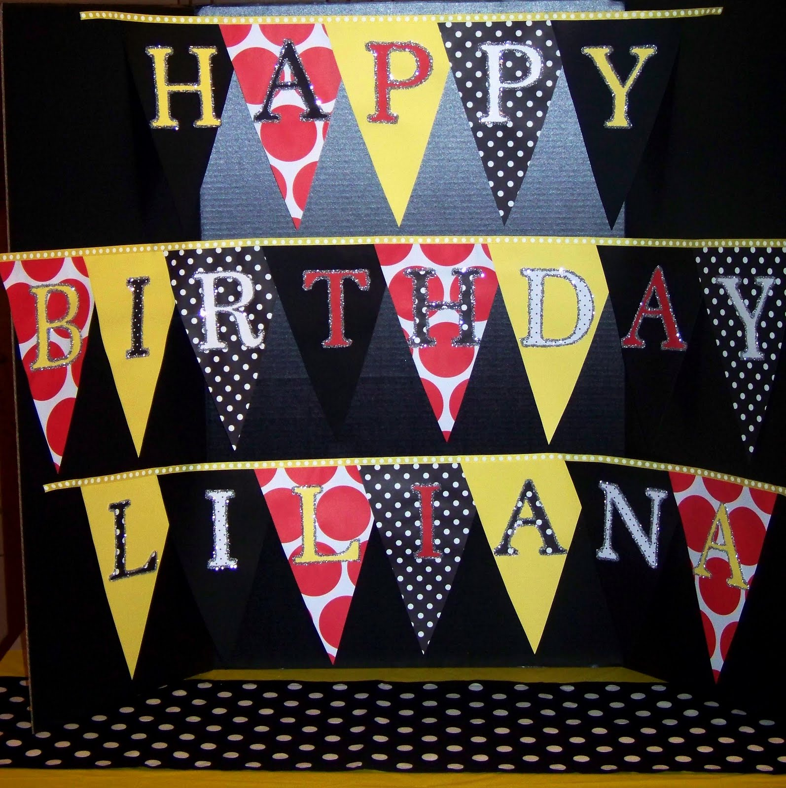 Minnie Mouse Birthday Banners