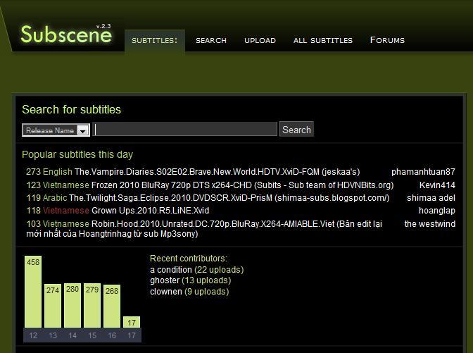 www.subscene.com - friendly use