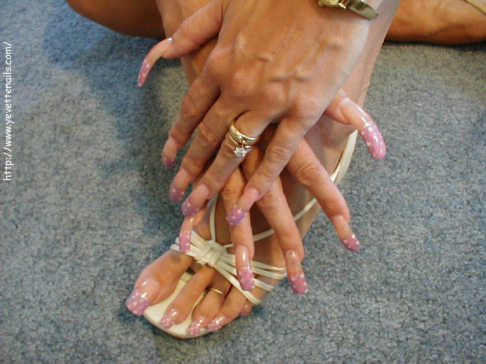 Eklige Fußnägel