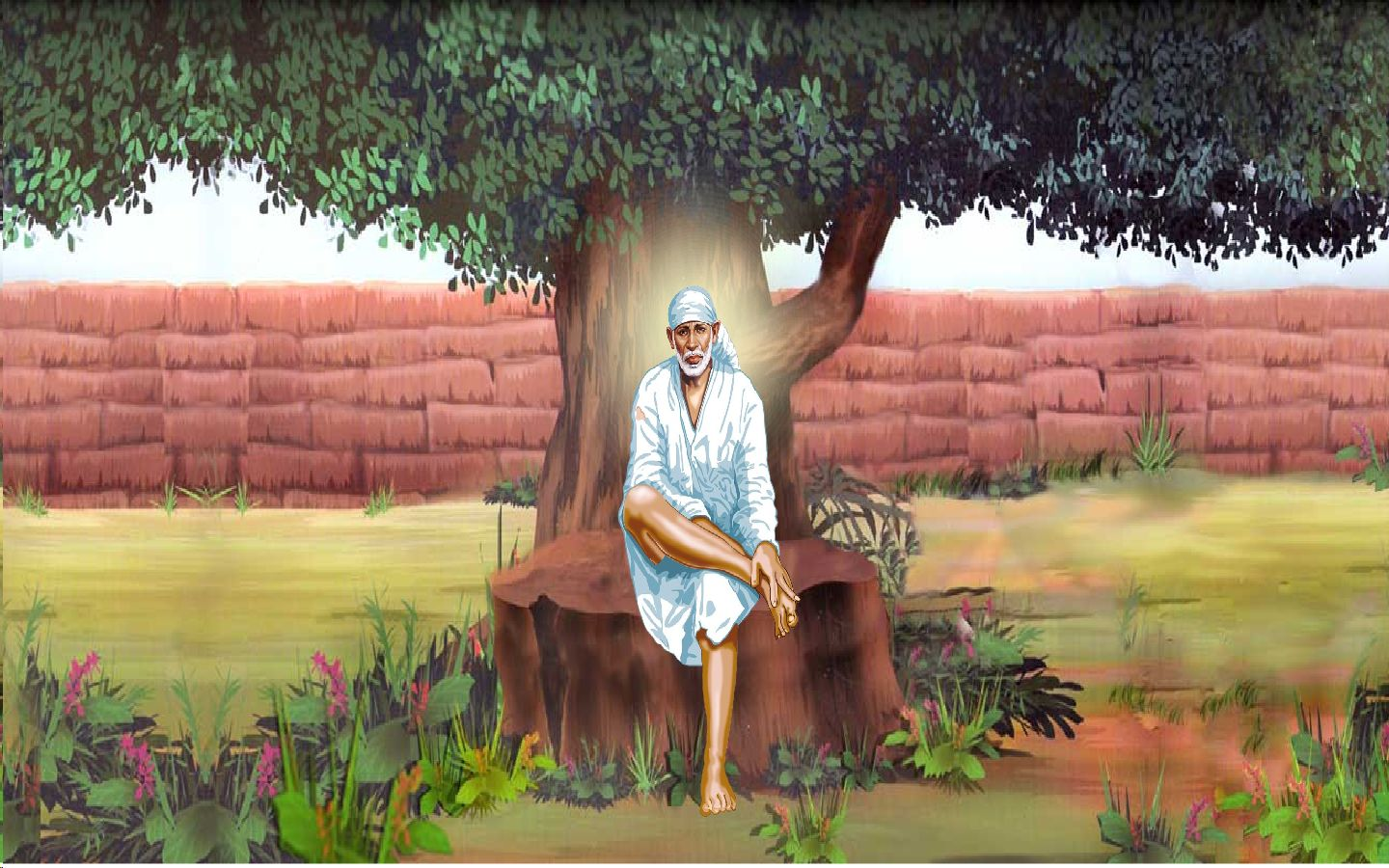 3d Wallpaper Online Shopping India 5 Shirdi Sai Baba Screen Savers Released By Sansthan S