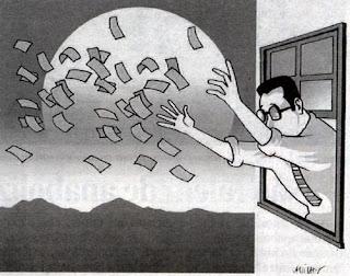 Resultado de imagem para desperdício dinheiro