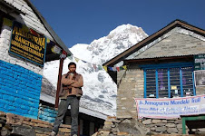 Tea house in the Annapurna base camp