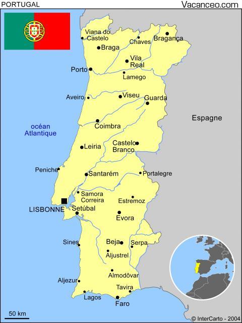 mapa de portugal mira Mapa General de Portugal | Turismo en Portugal mapa de portugal mira