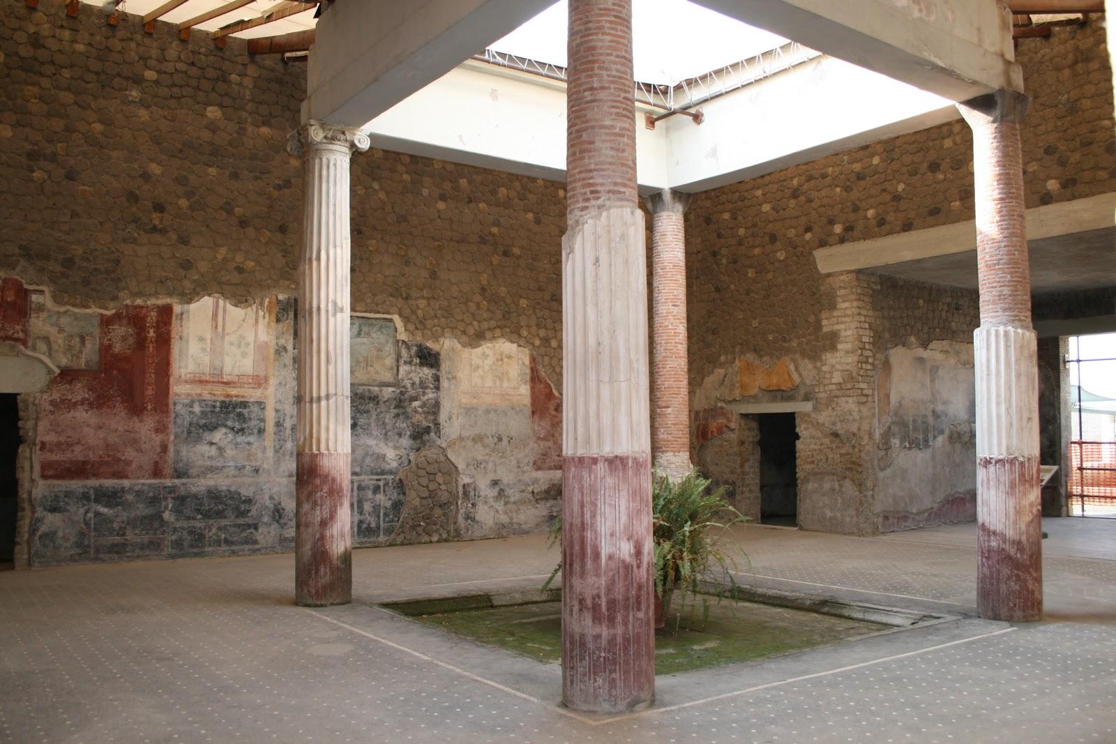 Domvs romana atrio centro activo del hogar romano for Atrio dentro casa