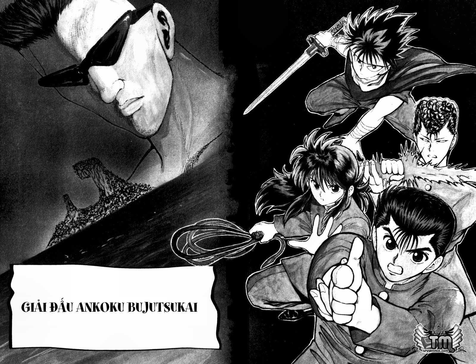 Hành trình của Uduchi chap 052: giải đấu ankoku bujutsukai trang 2