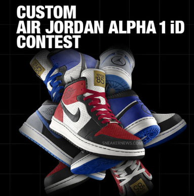 7054b33e2df0 You Know I m signing up for this... Air Jordan Alpha 1 iD – Design Contest