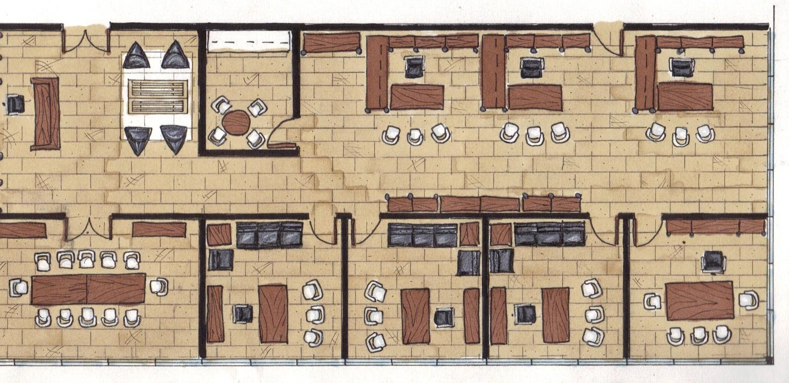 Law Office Floor Plan: Inner Beauty: Rendered Floor Plan