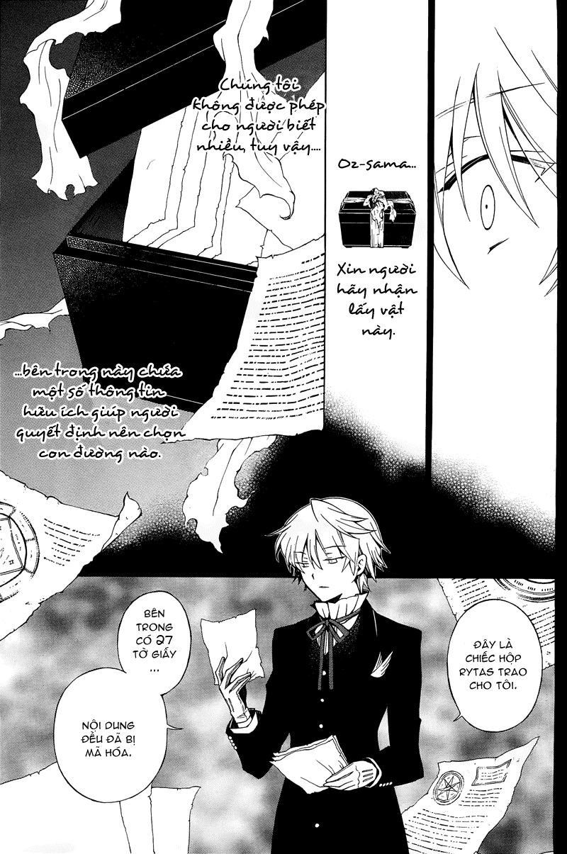 Pandora Hearts chương 047 - retrace: xlvii unbirthday trang 9
