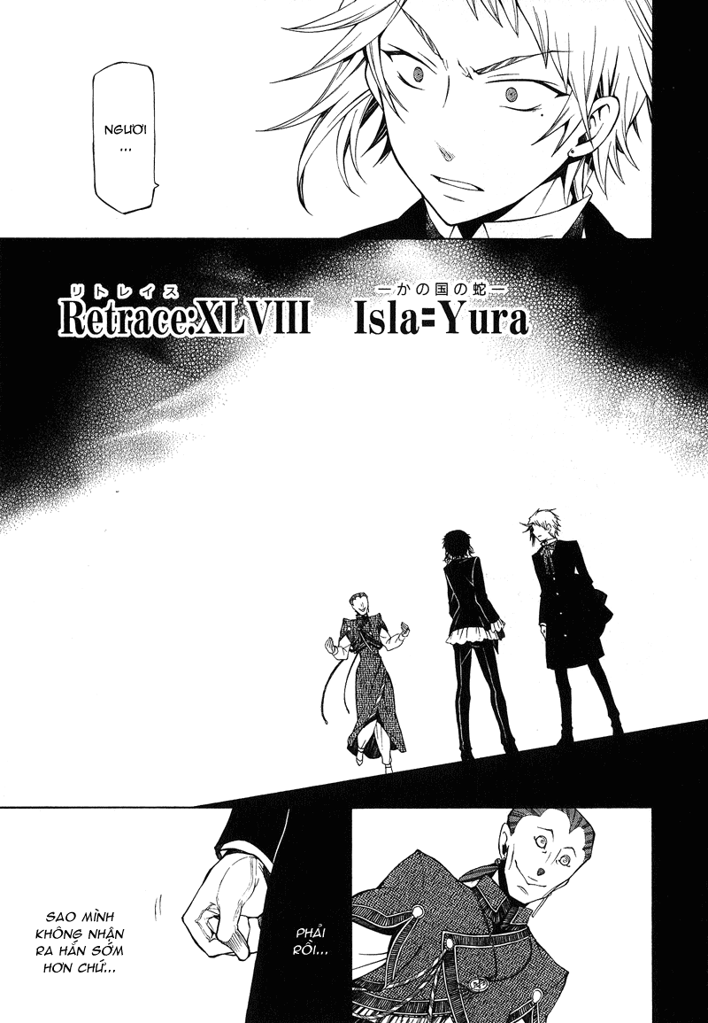 Pandora Hearts chương 048 - retrace: xlviii isla=yura trang 1