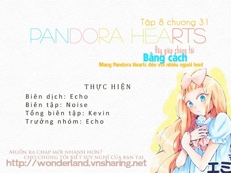 Pandora Hearts chương 031 - retrace: xxxi countervalue of loss trang 45