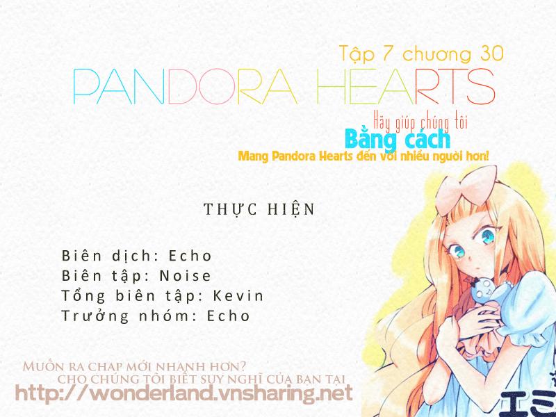 Pandora Hearts chương 030 - retrace: xxx snow white chaos trang 1