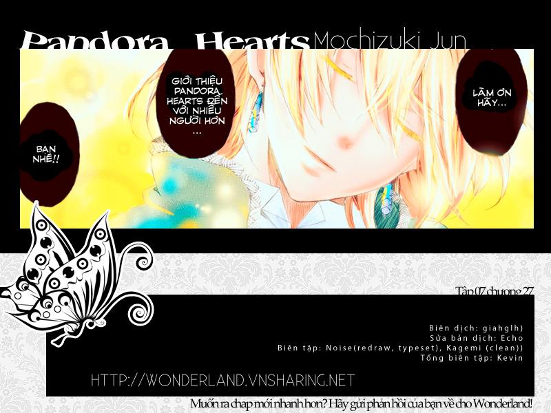 Pandora Hearts chương 027 - retrace: xxvii get out of the pool trang 48