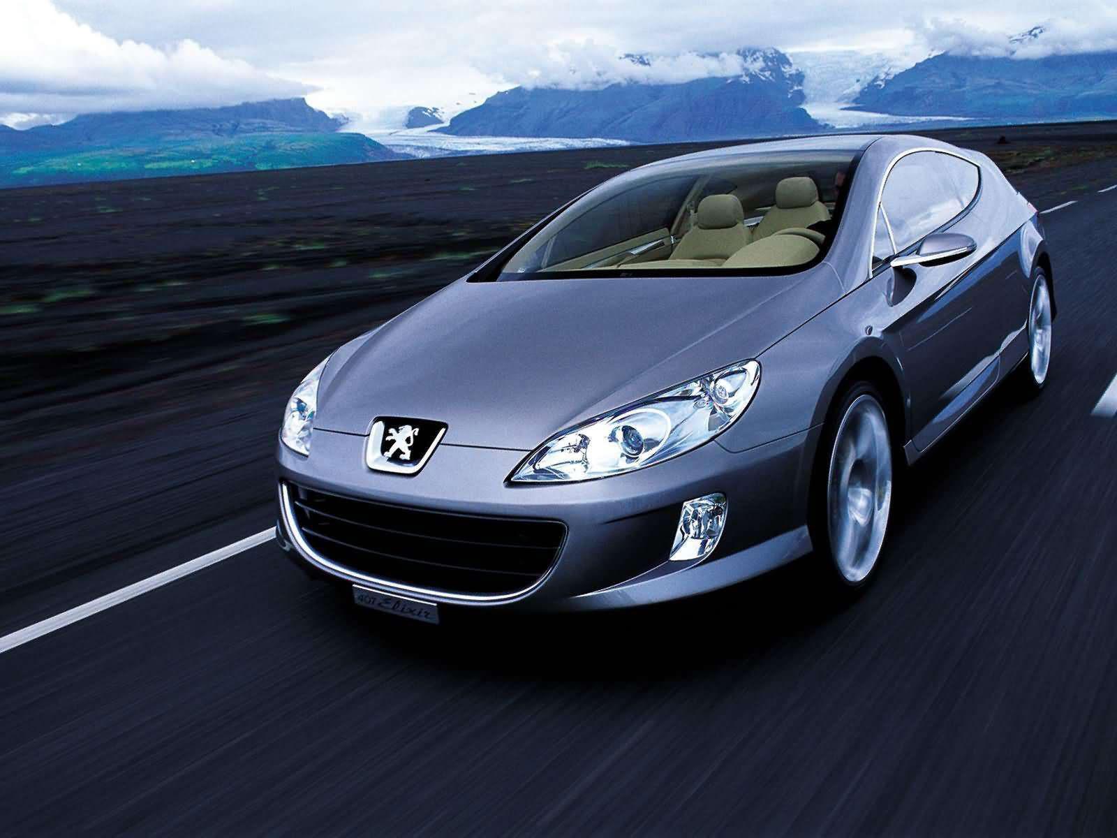 PEUGEOT 407 Elixir Concept (2003). Car Accident Lawyers Info