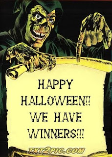 Last winners of October!! FIVE Winners of Run for Your Life!!!