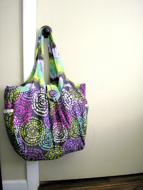 cosmo bag by amy butler style stiches pattern