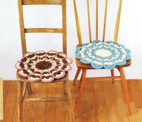 Tejidos en crochet para sillas lodijoella - Tejidos para tapizar sillas ...