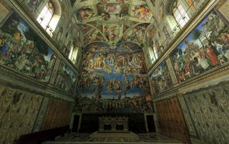 WHAT THE FUCK HAVE YOU DONE?: Sistine Chapel Virtual Tour