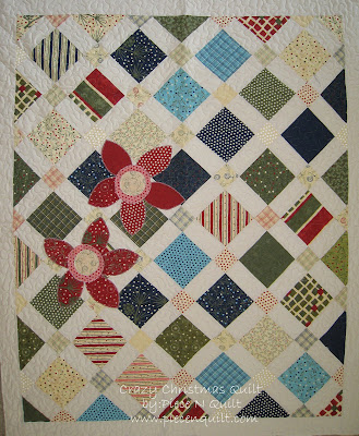 Christmas Quilt Patterns.Piece N Quilt Crazy Christmas Quilt Tutorial
