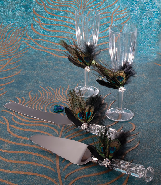 Peacock Wedding Gifts: My Wedding Favors Etc: Peacock Wedding Theme Ideas
