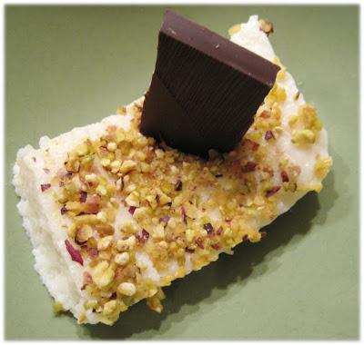 Irmik - Mannagryns dessert med pistage&kokos