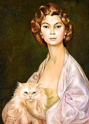 Miroir des chats - Leonor Fini