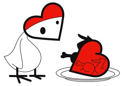 A Heart a Day - Chicken