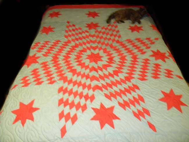 Fluffy S Compleat Boutique Moon Cherokee Star Quilt