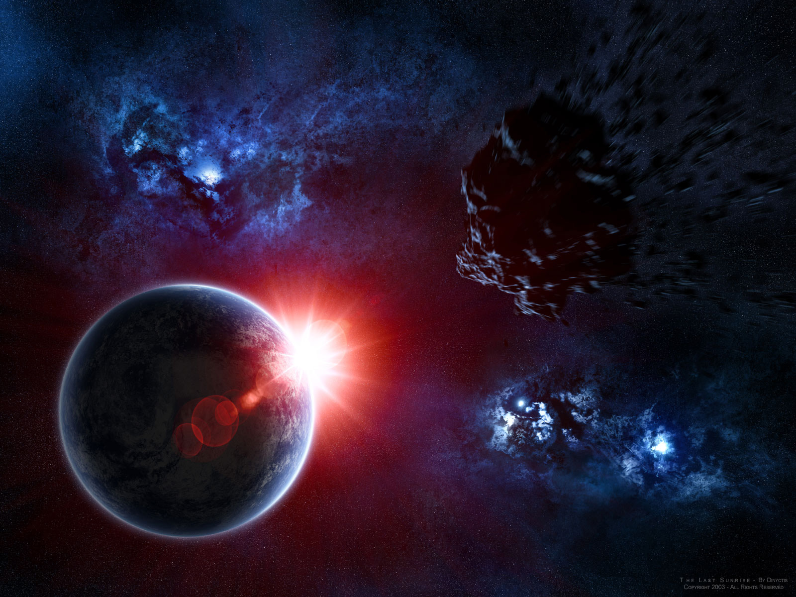 Wikiwalls beautiful space wallpapers - Final space wallpaper ...