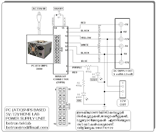 Electronics Hobby Circuits: PC SMPS BASED HOME LAB POWER