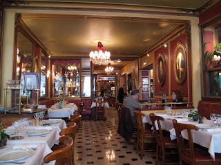 Inside Le Procope Restaurant Paris