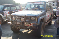 our vehicle with China registration number