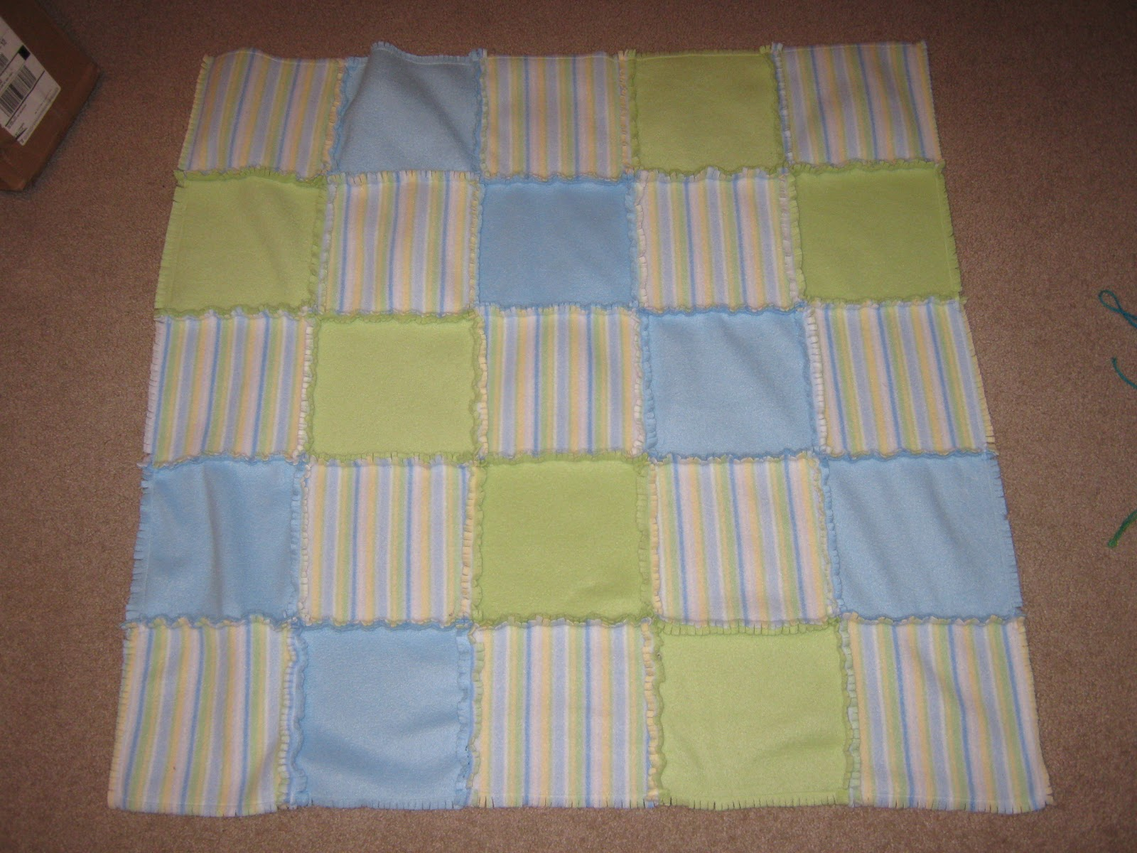 I have recently made both rag quilts and no sew fleece blankets 454891069