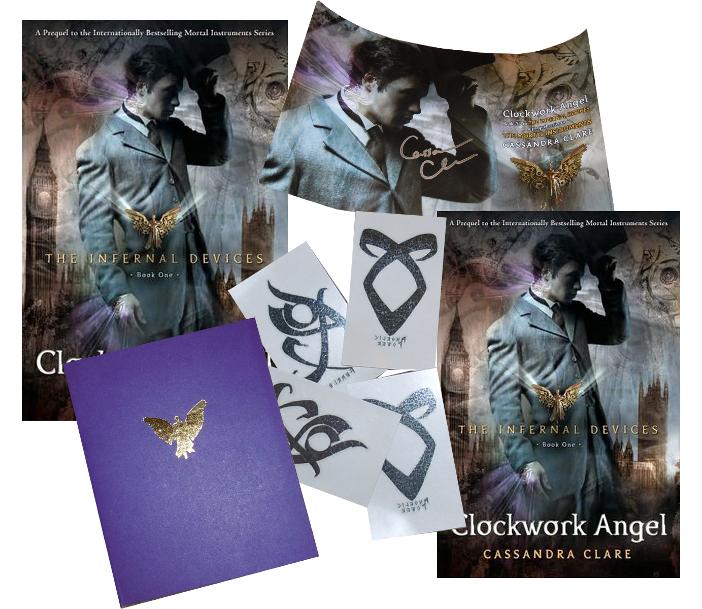 Win Clockwork Angel by Cassandra Clare