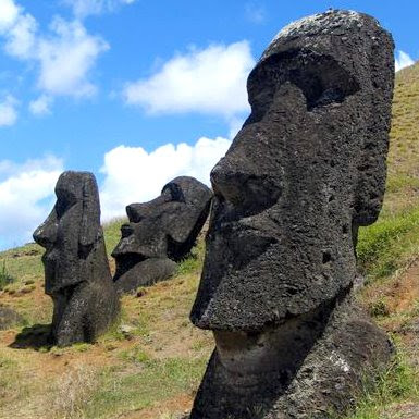 Easter Island Stone Houses