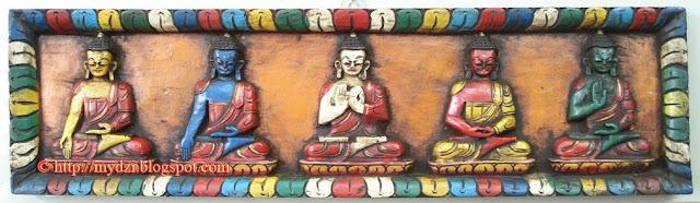 NEPALESE AND TIBETAN ARTS BLOG: The Five Dhyani Buddha