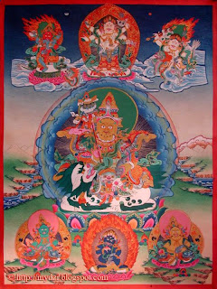 Five Jambala and VaisaRavana