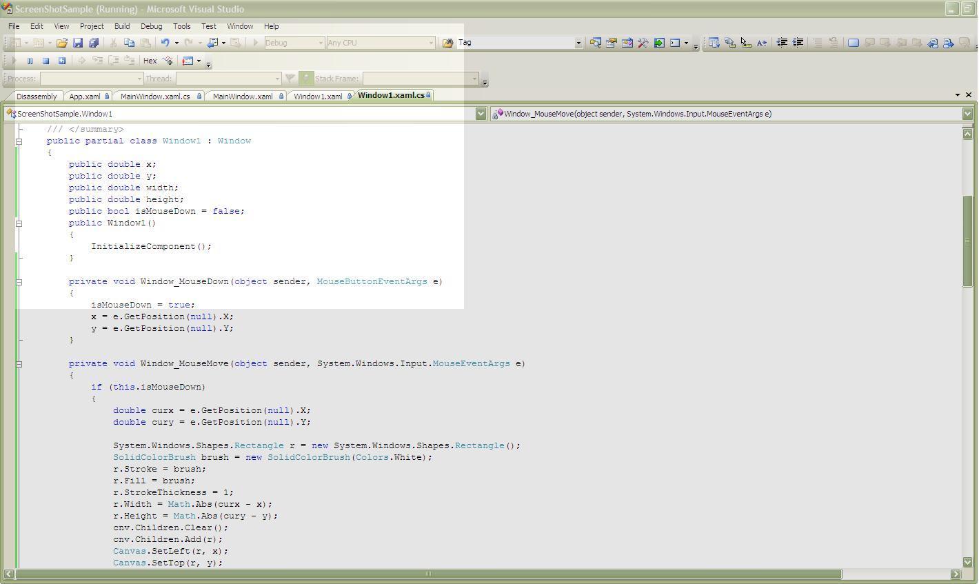 DOT NET TRICKS: Screen Capture in WPF & WinForms Application