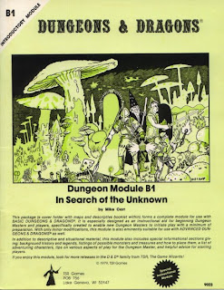 grognardia retrospective in search of the unknown
