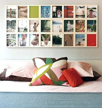 Rosas Inspiration Nice Diy Project Wall Of Frames