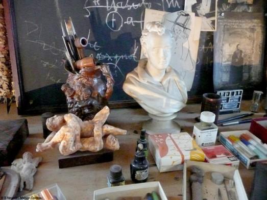 Man Ray Modigliani: * Wunderkammer *: La Casa De Jean Cocteau En Milly La