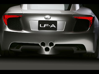 Lexus LF-A Sports Car