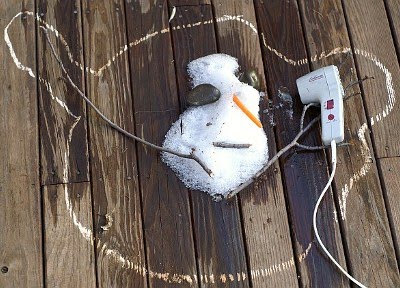 Snowman voluntary death, not suicide