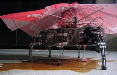 Coca Cola syre selvmords robot