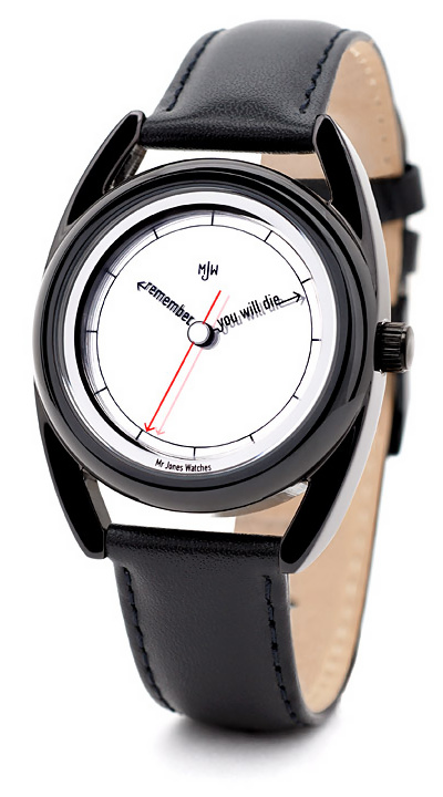 Mr Jones Watches - The Accurate - Memento Mori - Designer armbåndsur