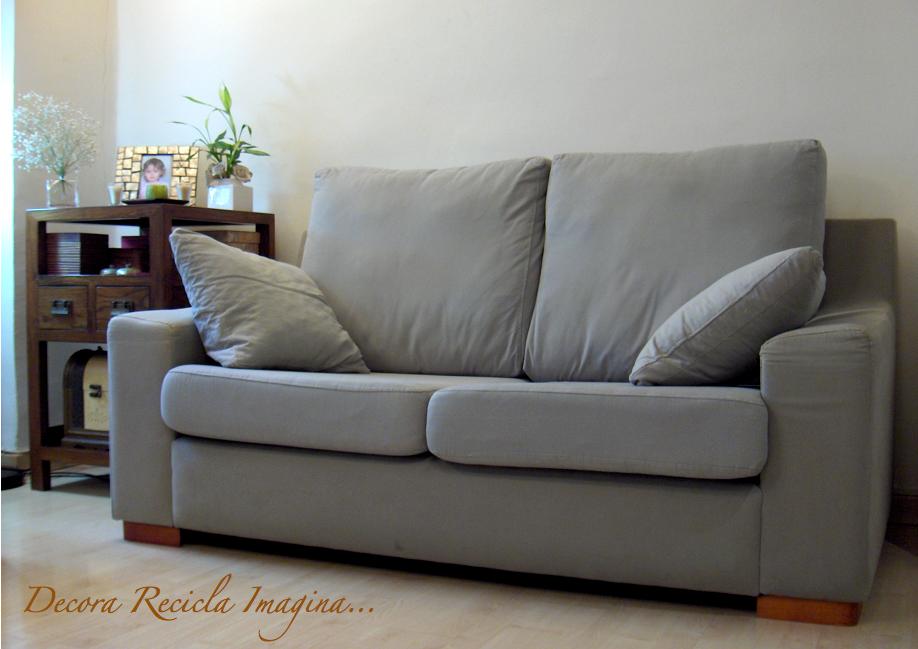 Decora recicla imagina antes y despu s en 3 minutos - Funda de sofa carrefour ...