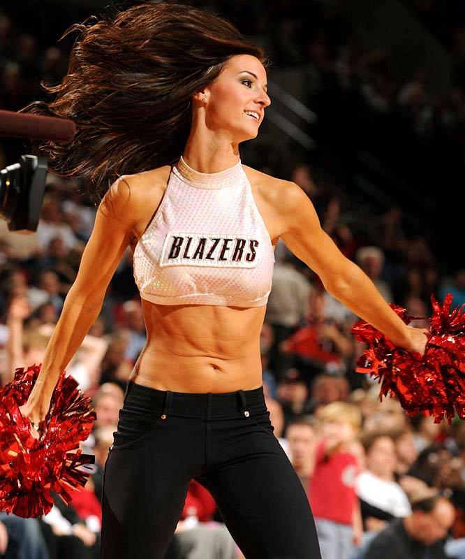 Blazers Roster 2015: Pro Cheerleader Heaven: Portland Trail Blazers Cheerleaders