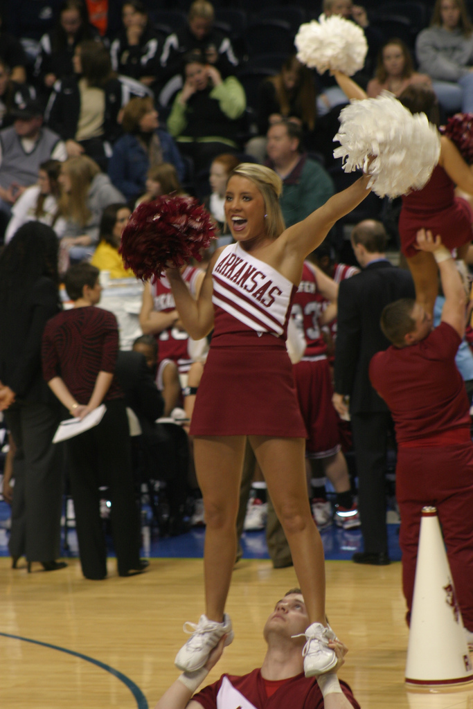 Cheerleaders Sport World Sugar Bowl Cheerleader Preview 6 Ohio State V 8 Arkansas