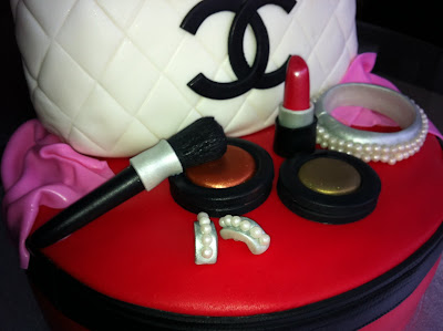 Mac Chanel And Gucci Birthday Cake