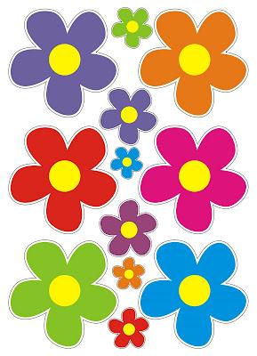Imagens De Flores Pequenas Coloridas Para Imprimir